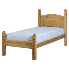 Corona - 3' Single Low Footend Bed - Pine