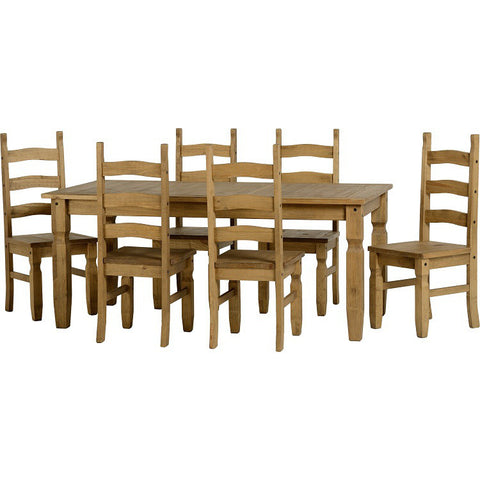 Picture of Corona - 6' Dining Set - Pine
