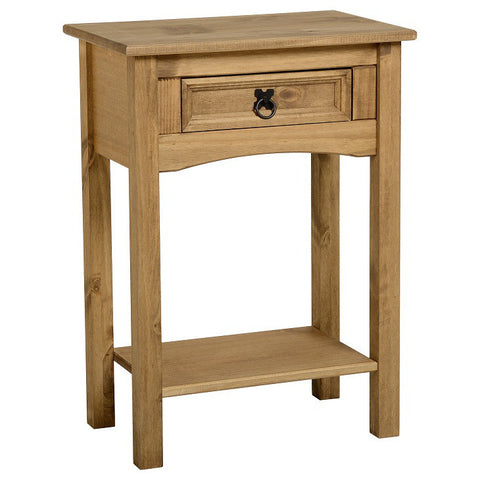 Picture of Corona - 1 Drawer Console Table - Pine