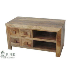Dakota DTV4DL - 4 Drawer TV Unit - Light Mango
