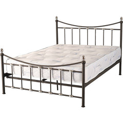 Dunbar - High Foot End Bed - Black