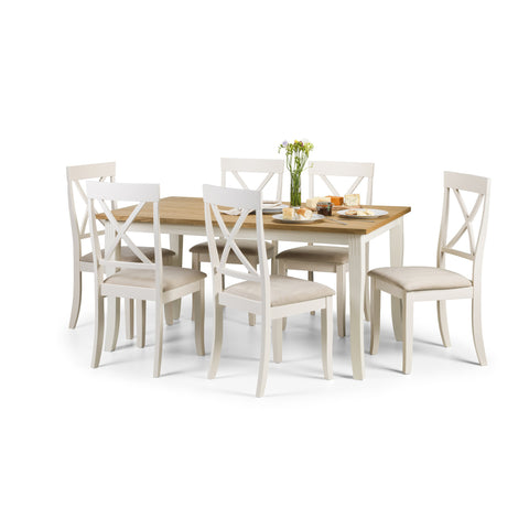 Picture of Davenport - Dining Table - White