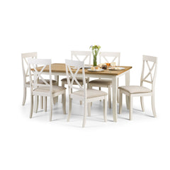 Davenport - Dining Table - White