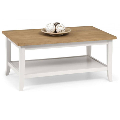 Picture of Davenport - Coffee Table - White and Oak