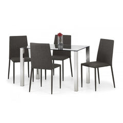 Enzo - Dining Table Set - Glass