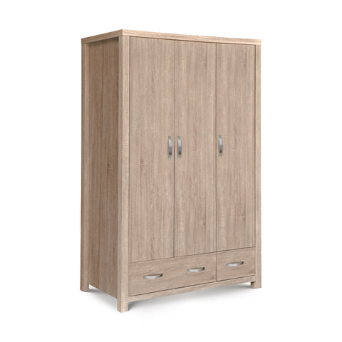 Picture of Hambleton - 3 Door Combination Wardrobe - Sonoma Oak