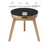 Jual JF710 - San Francisco SmartSpeaker Charging Lamp Table -  Oak