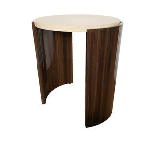 Picture of Jual JF903- Large Lamp Table - Walnut/Cream