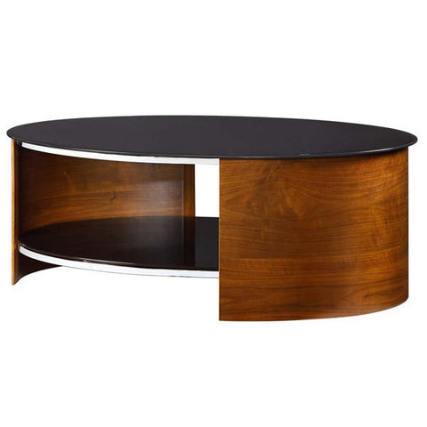 Picture of Jual JF301 - Oval Coffee Table - Walnut
