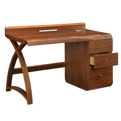 Jual PC601 - Pedestal Desk - Walnut