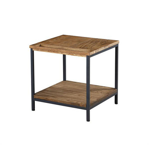 Picture of Jual SW303 - Lamp Table - Rustic Oak