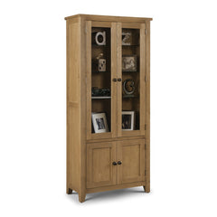 Astoria - Glazed Display Cabinet - Oak