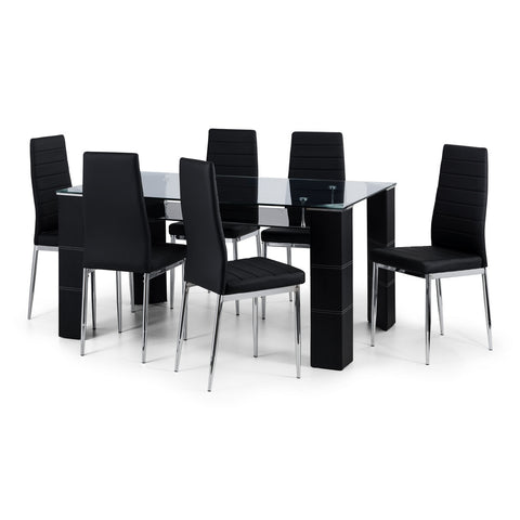 Picture of Greenwich - Dining Table - Black