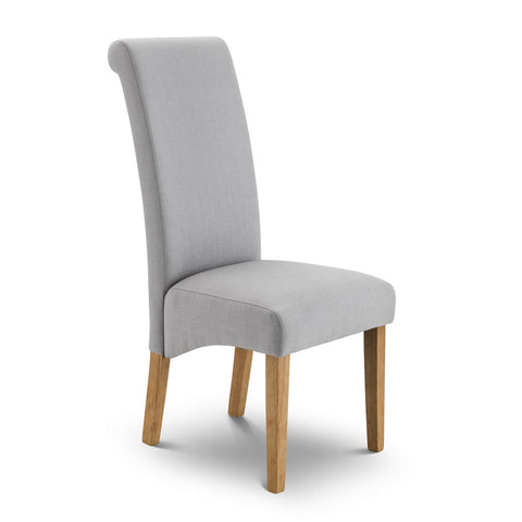 Picture of Rio - Linen Fabric Chair - Stone