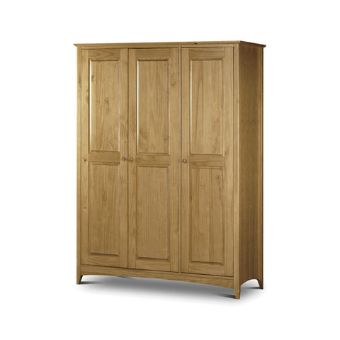 Picture of Kendal - 3 Door Wardrobe - Pine