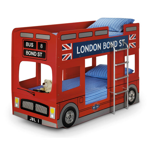 Picture of London - Bus Bunk Bed - Red
