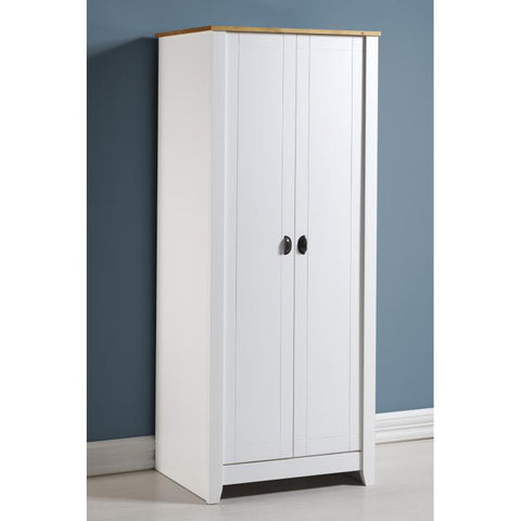 Picture of Ludlow - 2 Door Wardrobe - Painted White