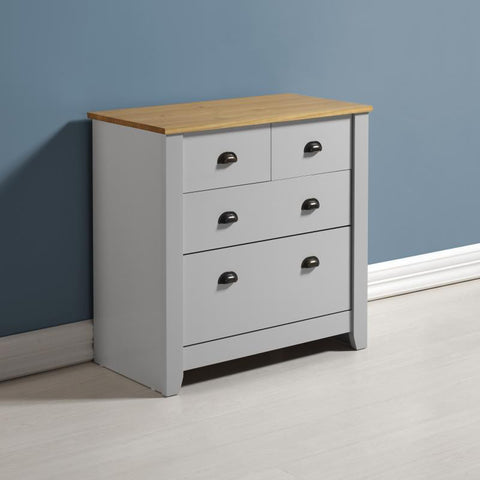 Picture of Ludlow - 2 Over 2 Chest - Painted Grey