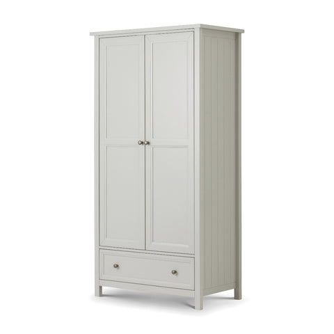 Picture of Maine - 2 Door Combination Wardrobe - Dove Grey