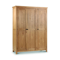 Marlborough - 3 Door Wardrobe - Oak