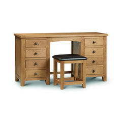 Marlborough - Twin Pedestal Dressing Table - Oak