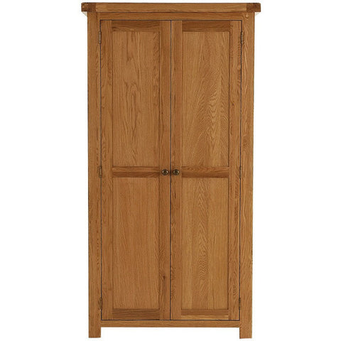 Picture of Oakham - 2 Door Wardrobe - Oak