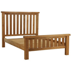 Oakham - High Footend Bed - Oak