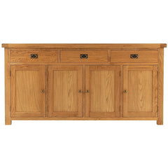 Oakham - 4 Door 3 Drawer Sideboard - Oak