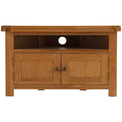Oakham - Corner TV Unit - Oak