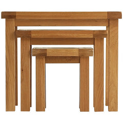 Oakham - Nest of 3 Tables - Oak