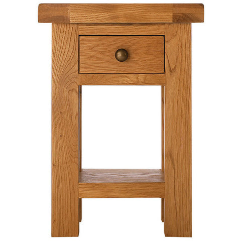 Picture of Oakham - Side Table with Drawer - Oak