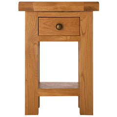 Oakham - Side Table with Drawer - Oak