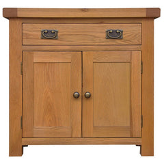 Oakham - Small 2 Door 1 Drawer Sideboard - Oak