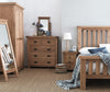 Oakham - 3 over 4 Chest of Drawers - Oak