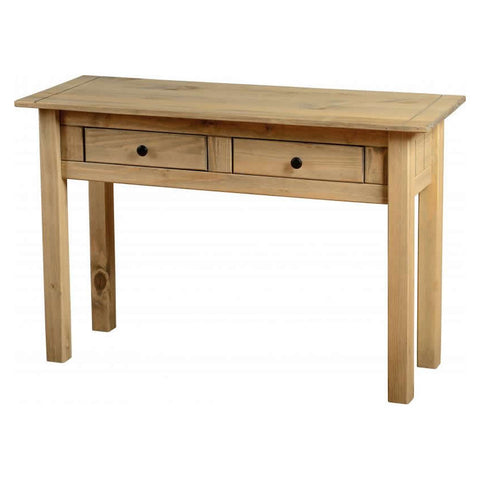 Picture of Panama - 2 Drawer Console Table - Pine