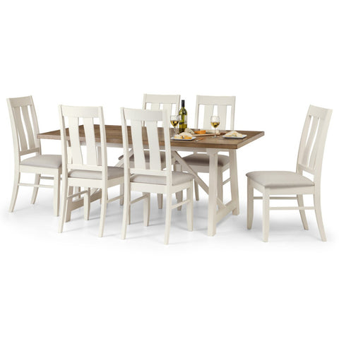 Picture of Pembroke - Dining Set - White and Oak
