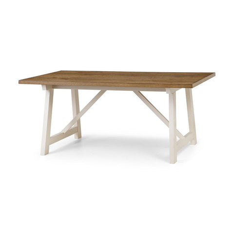Picture of Pembroke - Dining Table - White and Oak