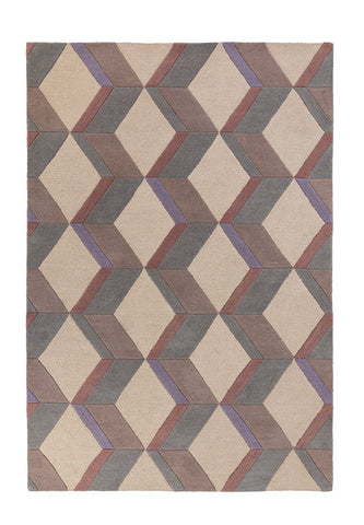Picture of Moderno   Geometric Wool Rug