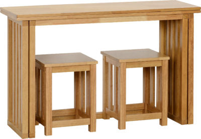 Picture of Richmond Foldaway Dining Table in Oak Varnish