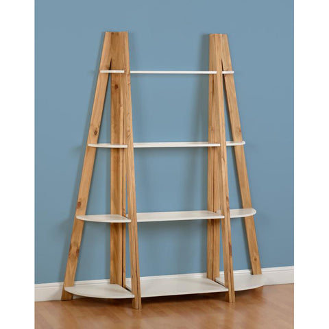 Picture of Santos - Shelving Unit 3 Piece Set- White