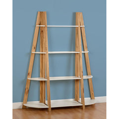 Santos - Shelving Unit 3 Piece Set- White