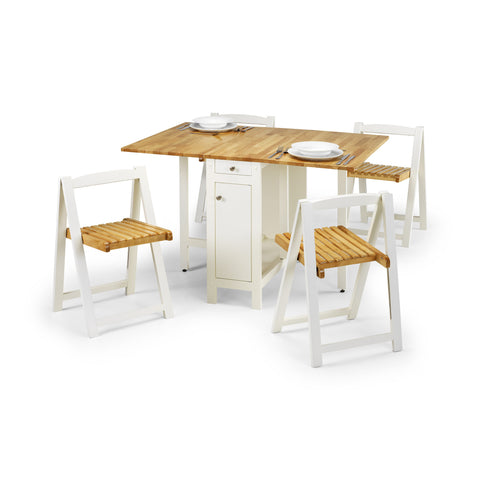 Picture of Savoy - Dining Set - White or Oak
