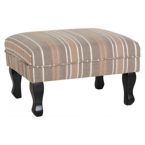 Picture of Sherborne - Foot Stool - Beige Stripe