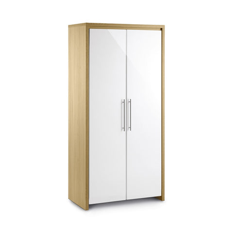 Picture of Stockholm - 2 Door Wardrobe - White