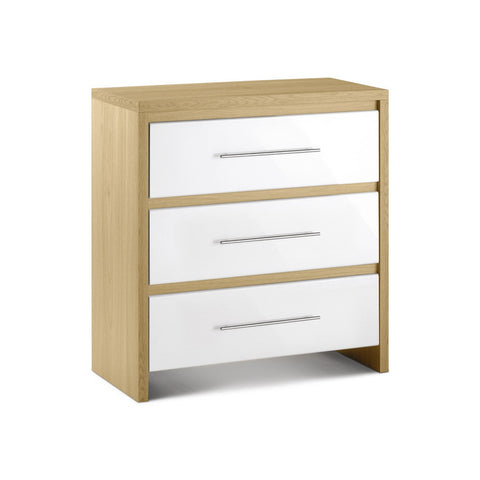Picture of Stockholm - 3 Drawer Chest - White