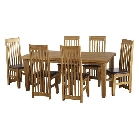 Picture of Tortilla - 6ft Dining Set - Pine