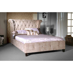 Epsilon - Bed - Mink Velvet