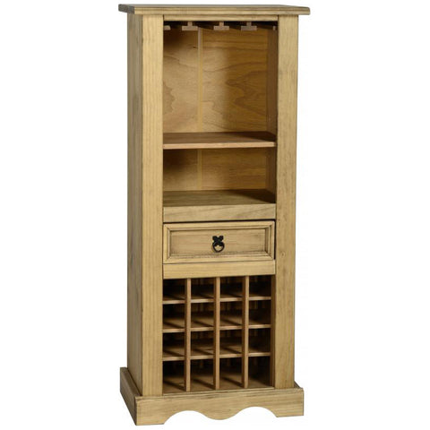 Picture of Corona - Tall Wine Rack - Pine