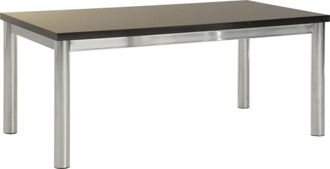 Picture of Charisma -Coffee Table in Black Gloss/Chrome