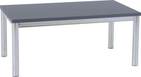 Picture of Charisma -Coffee Table in Grey Gloss/Chrome